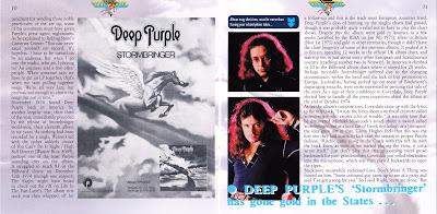 Quot Som Mutante Quot Deep Purple Stormbringer 35th Anniversary