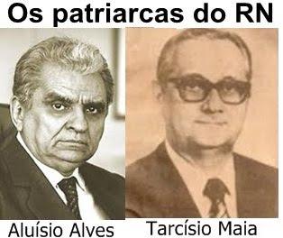Resultado de imagem para IMAGEM DE ALUIZIO ALVES E TARCISIOMAIA