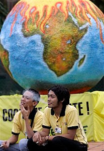 combat global warming...