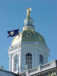 NH State House Dome