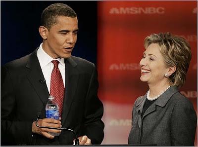 abab490f84c Jonathan Melle on Politics: Hillary Clinton to Barack Obama 44th US Prez!