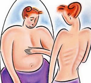El efecto de la anorexia