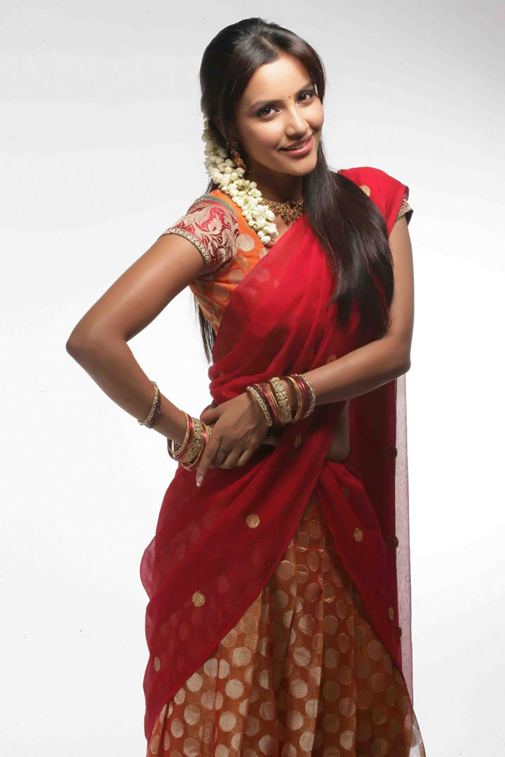 Sexy Girl Bikini New Hot Priya Anand Half Saree Latest -1355