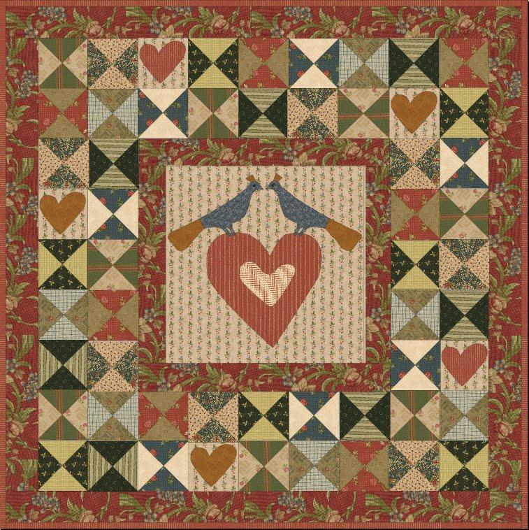 jan patek quilts love