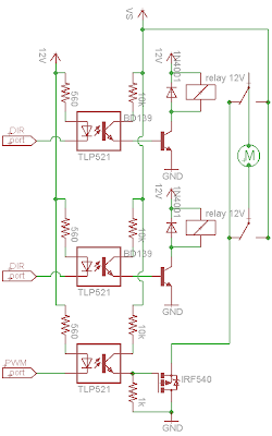 Rangkaian Driver Motor L293d : rangkaian, driver, motor, l293d, Driver, Motor, Relay, Dilengkapi, Dengan, Moving, Forward
