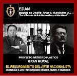 """GRAN MURAL """"EL RESURGIMIENTO DEL ARTE NACIONALISTA"""""""