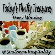 Today's Thrifty Treasures Every Monday