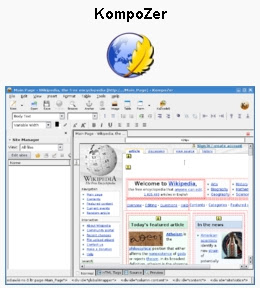 Free Easy Web Authoring For Non Technical Users With Kompozer Bill Mullins Weblog Tech Thoughts