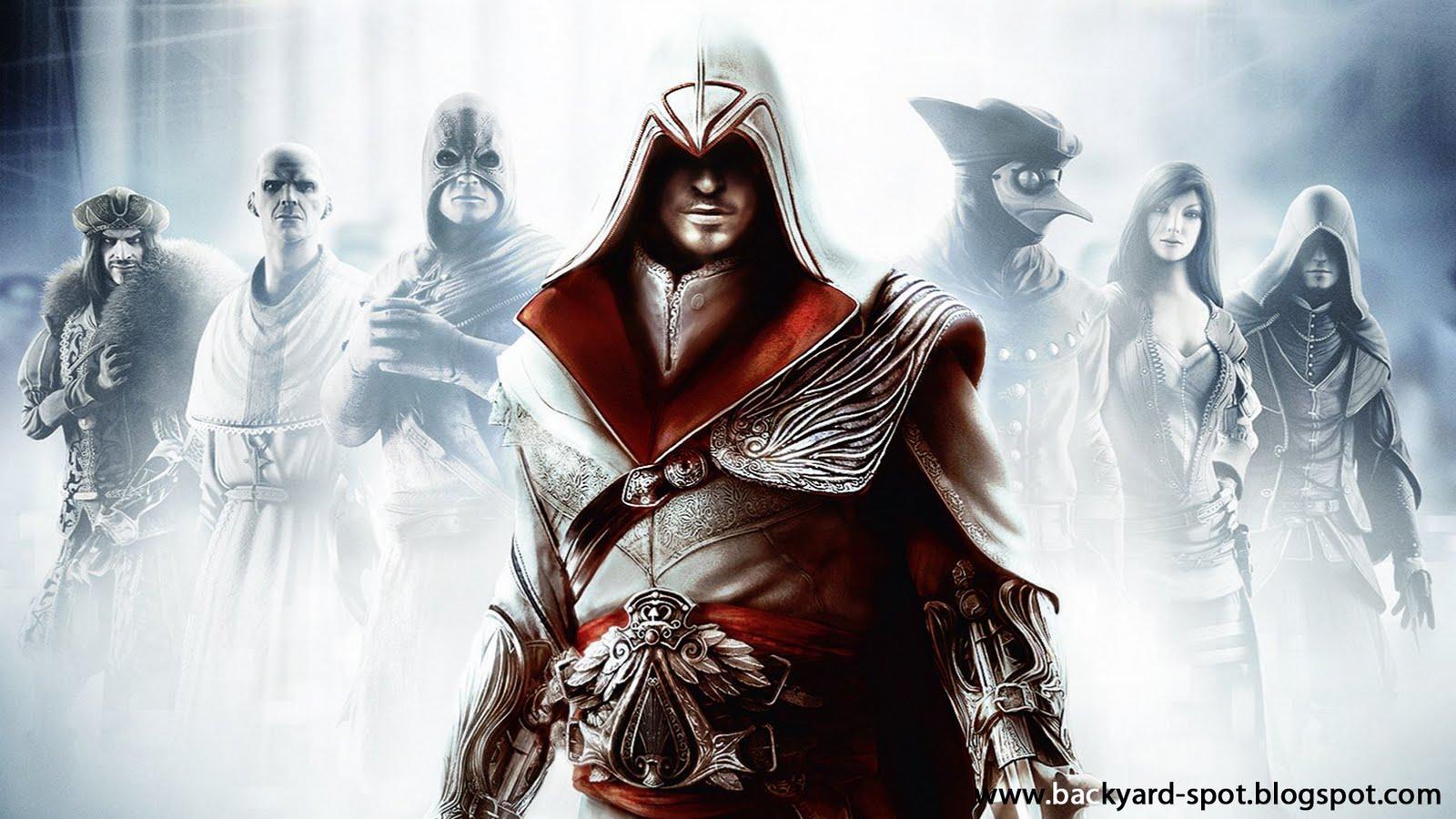 Assassins Creed Brotherhood Wallpaper: The Backyard Spot: Assassin's Creed: Brotherhood