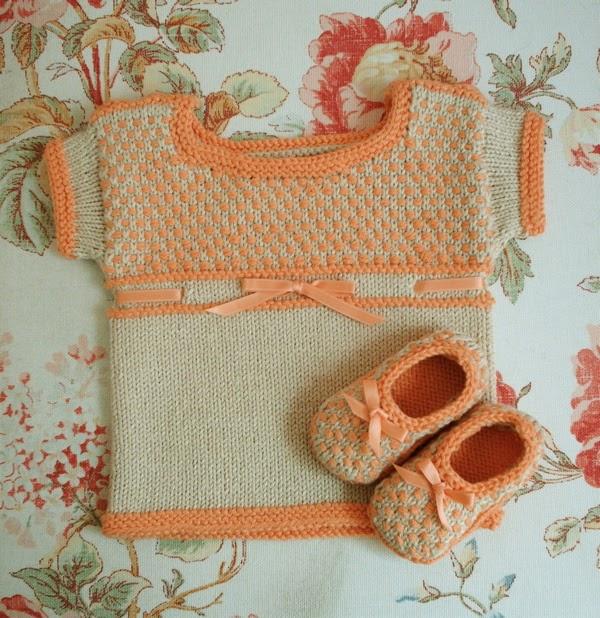 Knitting Pattern Errata : caroline hegwer: Petit Chou (Free Baby Knitting Pattern)