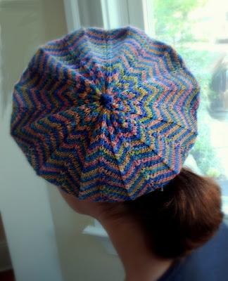Caroline Hegwer La Parisenne Free Beret Knitting Pattern