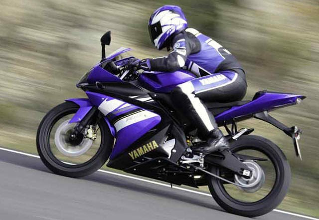 2010 Yamaha YZF-R125 Engine Modification Pictures