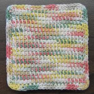 Giles County Historical Society Afghan Stitch Potholder Class