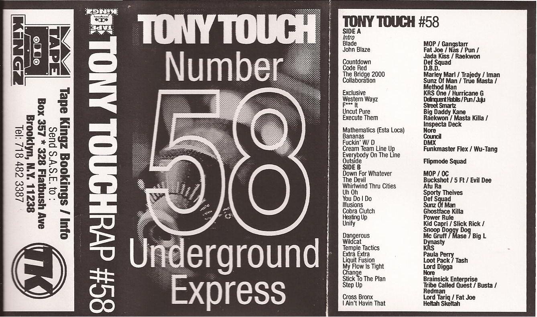 tony touch underground mixtapes