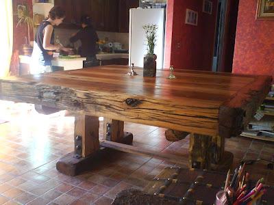 Fotos mesa de comedor rustica rozas - Mesas de comedor rusticas ...