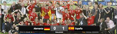 España campeón de la eurocopa 08