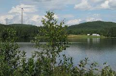 Wilno Farm View with Turbines