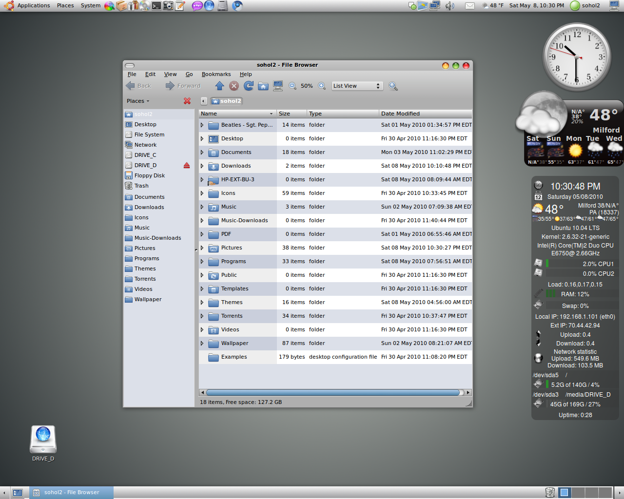 jfn linux project: Oxygen Blend Theme is a real OSX Leopard clone