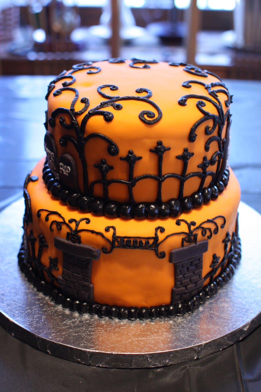 The Buttercream Bakery Graveyard Cake