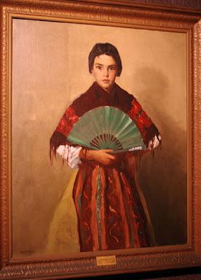 The Green Fan (Girl of Toledo, Spain)