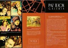 Artista invitada en la Galeria Paz Tejón de Valencia