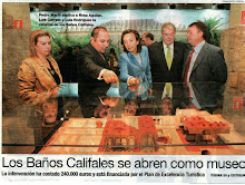 Los Baños Califales de Córdoba se abren como museo. Periodico Córdoba.