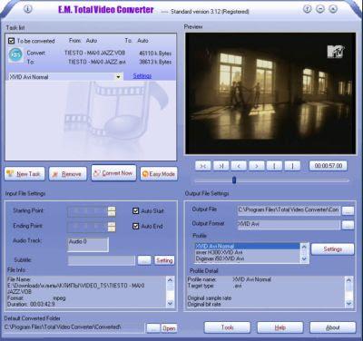 ����� ���� ���� ���� ������� Total Video Converter v3.14 + Crack