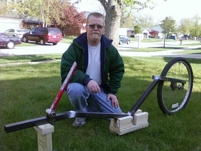 AZ Krew member and bike builder