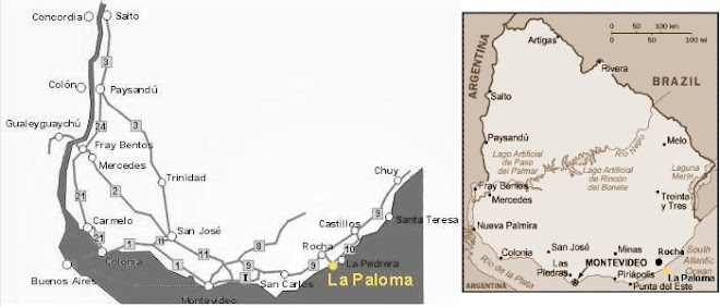 LA PALOMA - ROCHA - URUGUAY