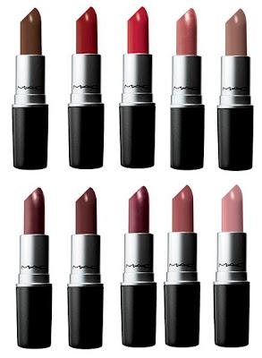 mac originals lipsticks