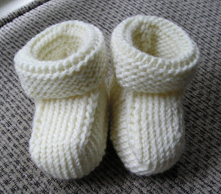 Free Knitting Patterns Baby Booties : knitty bloggy baby bumpers: October 2007