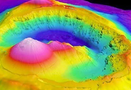 Under Water Volcanoes