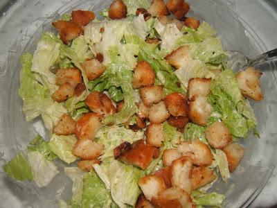 Ensalada César / Salade César