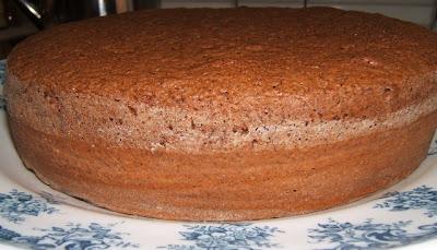 Gâteau au chocolat / Torta de chocolate