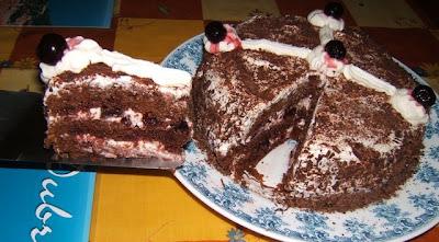 Gâteau Forêt Noire / Torta selva negra