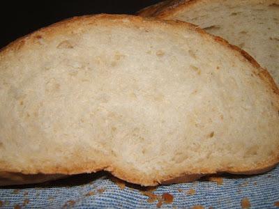 Hogaza de pan con poolish / Miche de pain au poolish