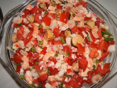 Salpicon aux fruits de mer