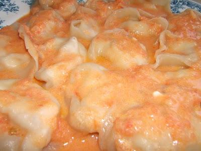 Sauce rosée ou Aurore avec fromage blanc