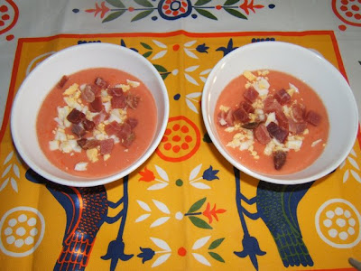 Soupe froide typique de la province de Cordoue