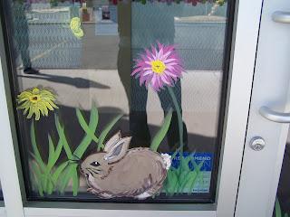 Bawden Fine Murals Window Painting Seasons Spring Summer