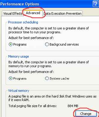 """Increase Virtual memory on your PC - Solve the """"Low Memory"""" problem"""