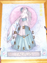 Taurus Star Sign Clock
