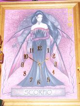 Scorpio Zodiac Clock