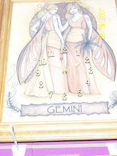 Gemini Star Sign Clock