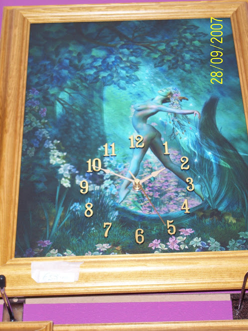 Spring Zodiac Clock