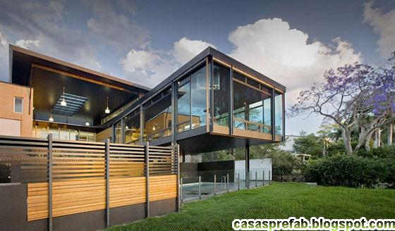 Casas de madera prefabricadas casa modulares portugal - Casas modulares modernas ...