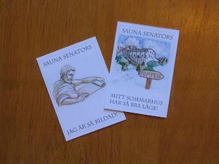 Sauna Senators -- Jag är så bildad! Mitt sommarhus har så bra läge!