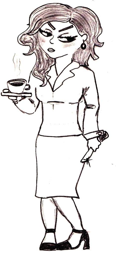 Maldición eterna a quien se tome este café...