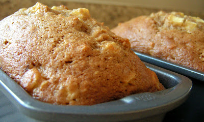 DOUBLE APPLE WALNUT BREAD - Butter with a Side of Bread