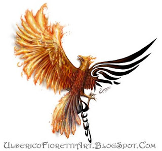Phoenix Ash Tattoo